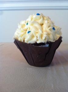 Red Velvet jumbo cupcake