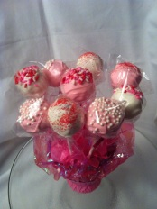 Birthday Cake Pop Bouquet