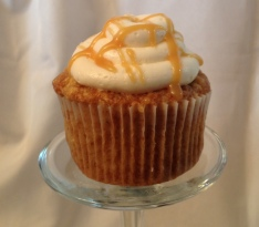 Apple Caramel Cupcake